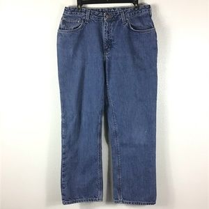 Carhartt Flannel Lined Jeans Sz 12 x 30